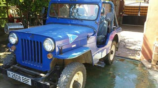 Jeep Willy CJ3 B viasa ebro 4x4