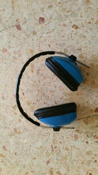 cascos protectores de ruido