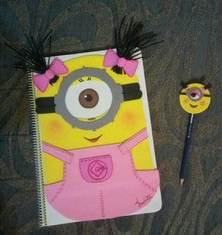 combo libreta y lápiz