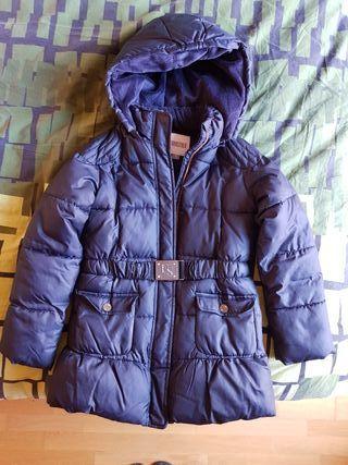 Abrigo azul marino niña talla 12