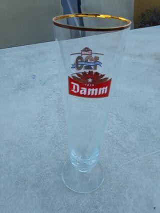 copa coleccionista cerveza VOLL DAMN , cristal