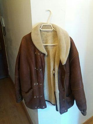 chaqueta vintage cuero