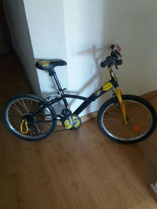 Bicicleta niño 5-9 años.