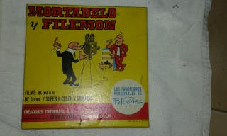 pelicula super 8 mortadelo y filemon
