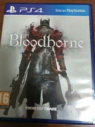 juego ps4 blooodborne