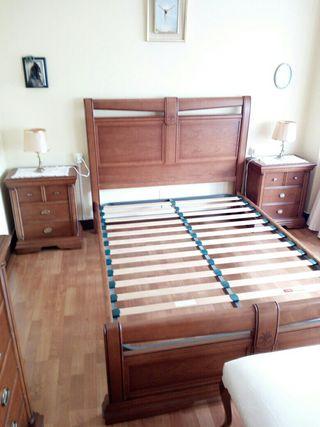 Dormitorio de castaño