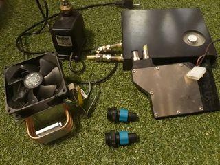 sistema de refrigeracion para pc gamer / tunning