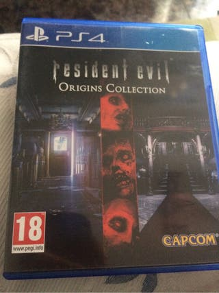 Juego ps4 resident evil origins collection