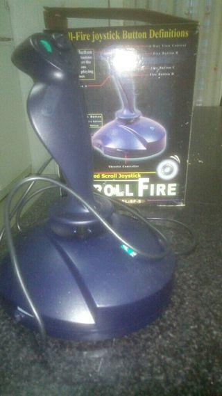 Joystick Scroll Fire