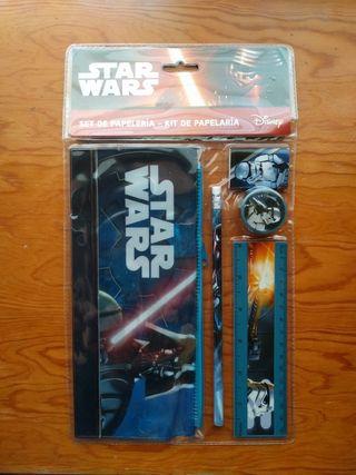 Kit de papeleria Star Wars