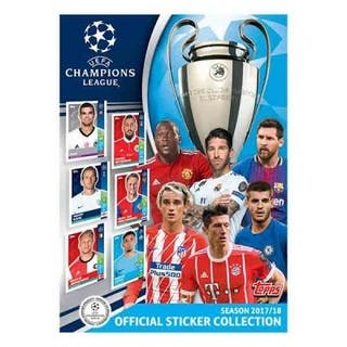 Cromos Uefa champions league 17/18 stickers