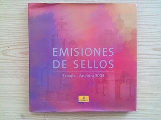 Emisiones De Sellos - España-Andorra 2004