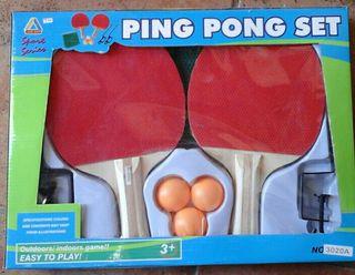 Ping pong set (Nuevo)
