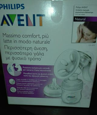 Extractor leche manual Avent