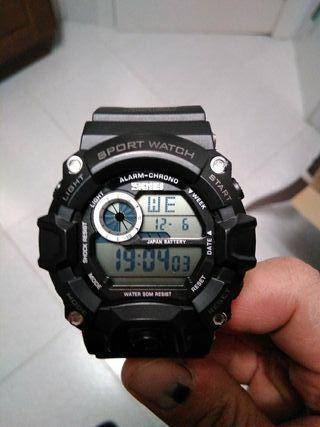 reloj digital sumergible antichock