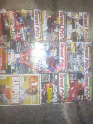 revistas F1