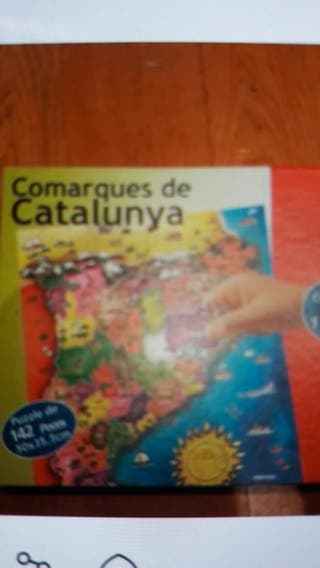 puzzle comarcas cataluña