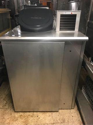 Armario residuos refrigerado