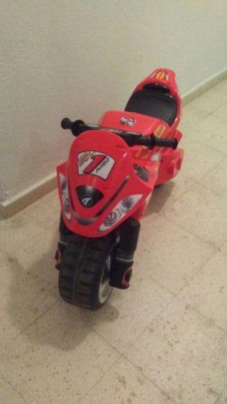 moto infantil de 6 años