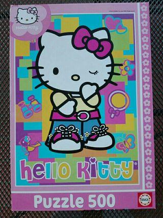 Puzzle 500 piezas Hello Kitty