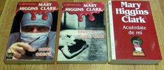 LIBROS DE MARY HIGGINS CLARK LA CUNA CAERA ETC