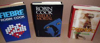 TRES LIBROS DE ROBIN COOK