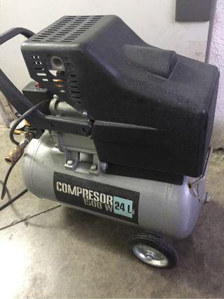 Compresor de 1500w 24L