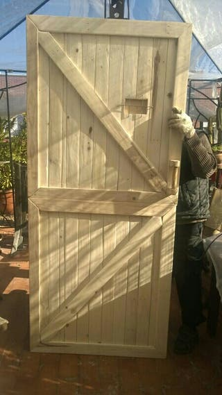 puerta granero