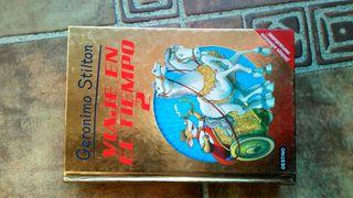 libro Viaje en el tiempo Jerónimo Stilton 2