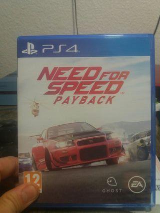 juego ps4 needforspeed payback