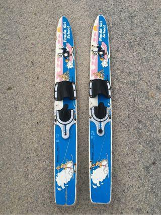 Esquís infantil