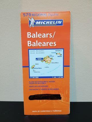 Mapa Michelin ISLAS BALEARES