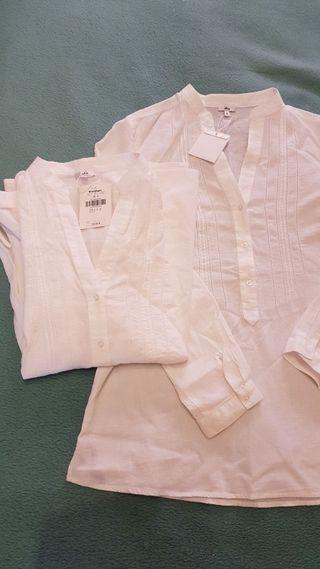 Blusas (2) para embarazada Talla 38 - S