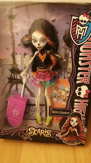 Monster High-Skelita NUEVA/envío GRATIS