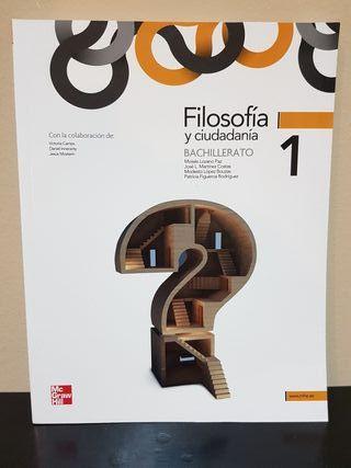 Libro 1°Bachillerato Filosofía, Edit: McGrawHill