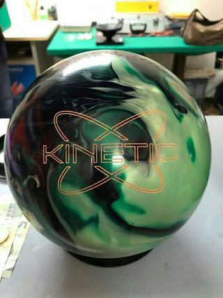 Bola de Bowling Track Kinetic Emerald de 15 lbs.