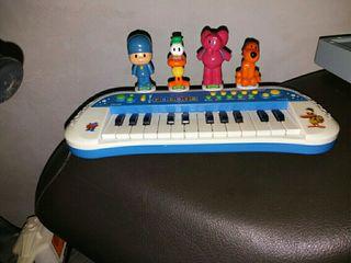 Piano infantil Pocoyo