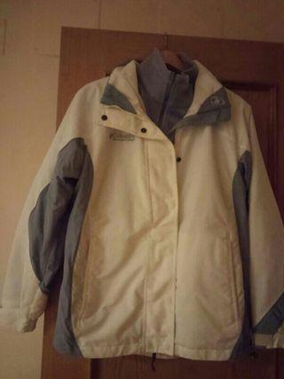 chaqueta nieve. columbia