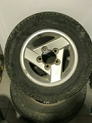 llantas aluminio originales jimny r15