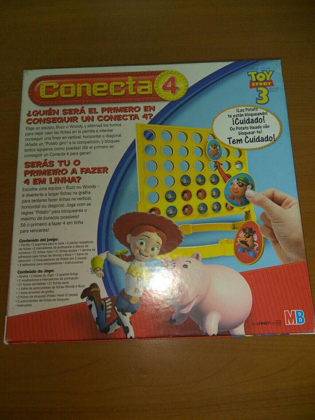 JUEGO CONECTA 4 DE TOY STORY