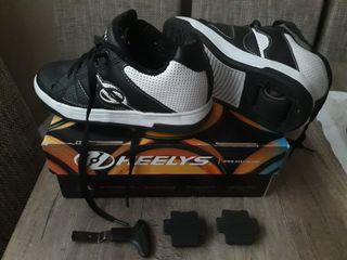 zapatillas de ruedas talla 34