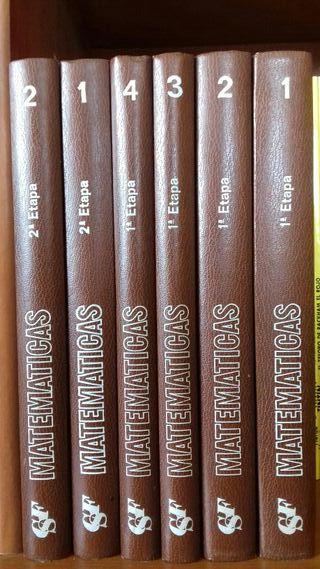 libros, Curso repaso de matemáticas