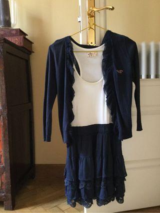 Vestido y chaqueta : Hollister