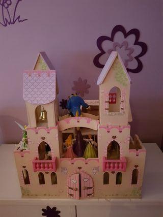 castillo kidkraft de madera