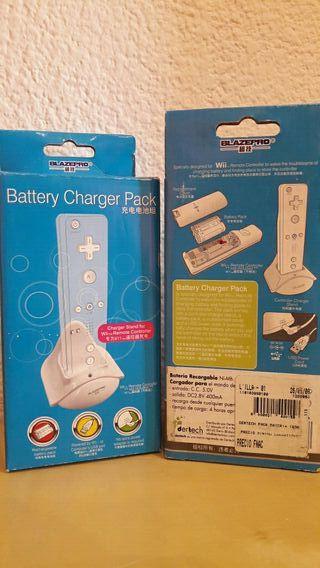 Bateria + Cargador Mando Wii