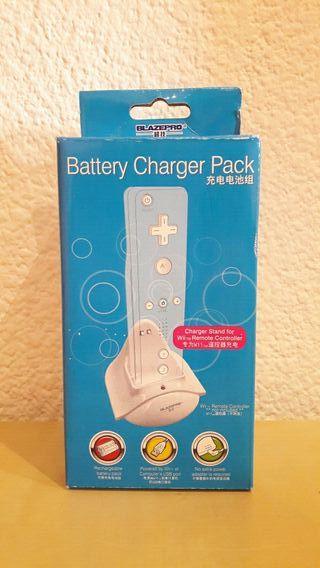 Cargador wii + Bateria Mando Wii