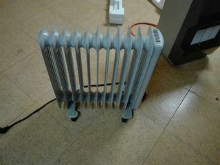 Radiador calefactor y Estufa catalitica.