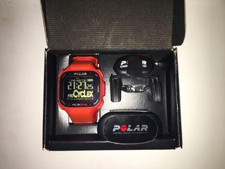Pulsometro, sensor frecuencia cardiaca y cadencia Polar RC3 GPS