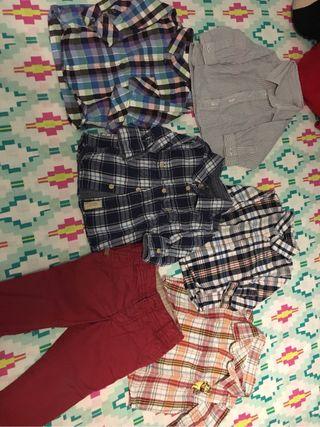 Camisas bebe