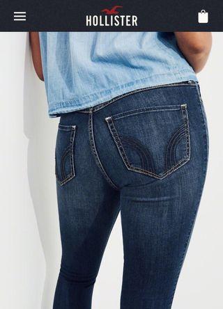 pantalones largos hollister